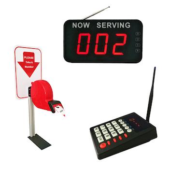 QueueTech Kölapp Nummerlapp nummerautomat System