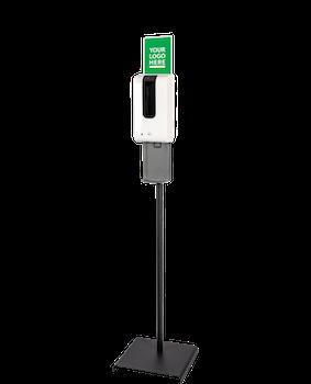Sensorstyrd Hygienstation med Golvstativ Komplett Handdesinfektion