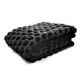 Black Eggeshell Throw 130X170
