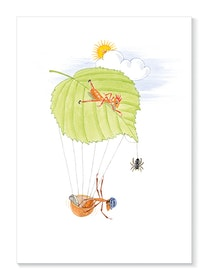 Myran Sofi flyger i ett hasselnötsskal