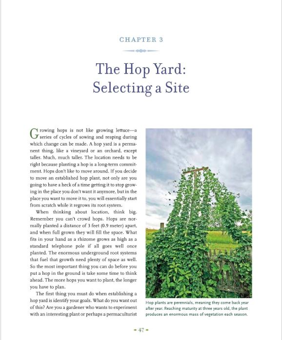 THE HOP GROWERS HANDBOOK