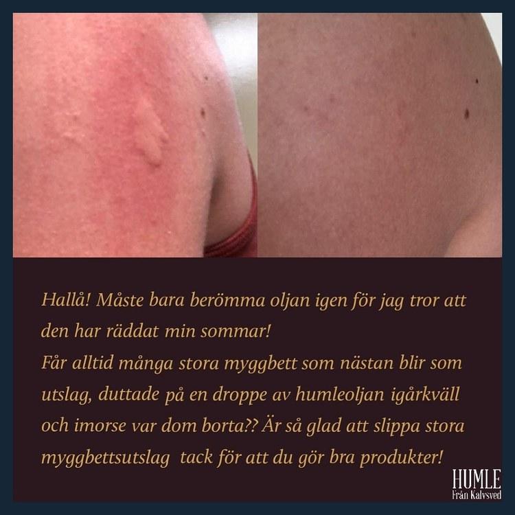 HUMLE Ansiktsolja Lavendelblom