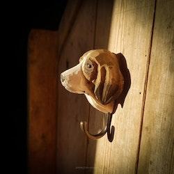 Handsnidad krok- Hund