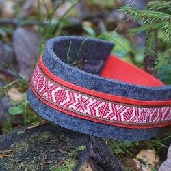 Kvitsle hundhalsband