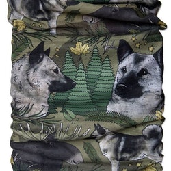 Tub & multiscarf Gråhund