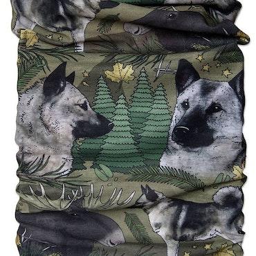 Tub & multiscarf Gråhund