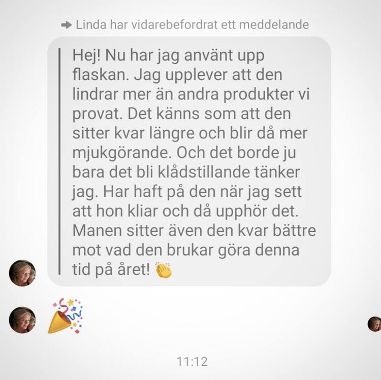 HUMLE -Lindra Eksem för häst