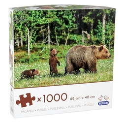 1000 bitars pussel med björnar