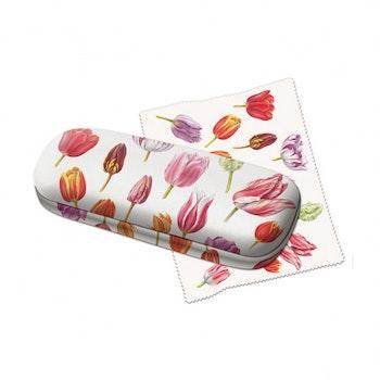 Glasögonfodral blommor tulpan