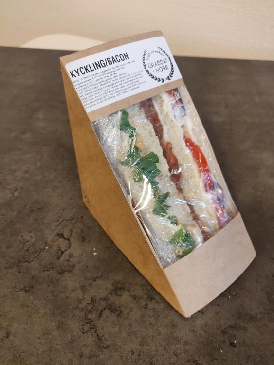 Club sandwich kyckling/bacon