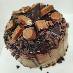 Chocolate drip cake (8-10bit)