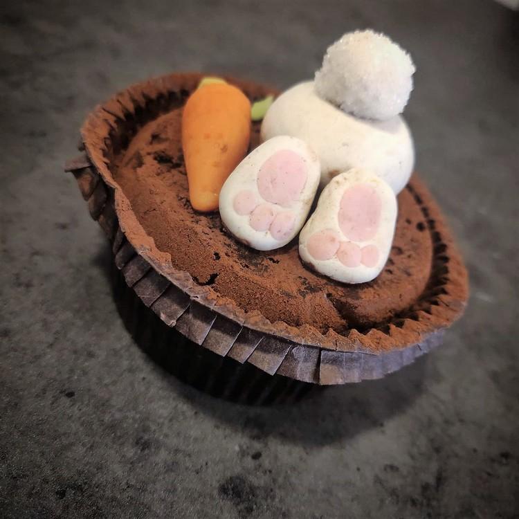 Påskharen (cupcake)