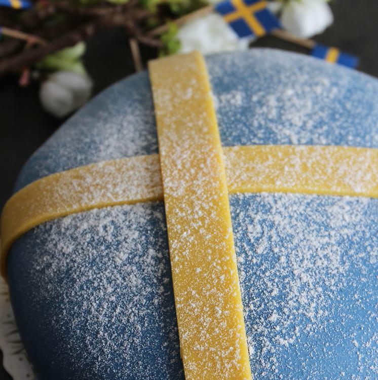 Sverigetårta (10-bitar)