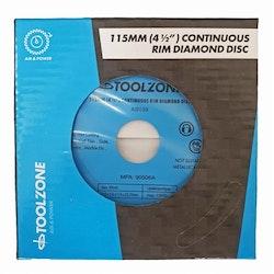 Diamantklinga 115mm * 5mm * 1,9mm * 22,2mm. Klinker