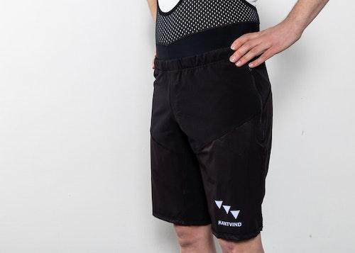 MTB-shorts Tornado | Svarta | Unisex