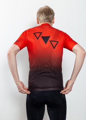 Cykeltröja Kuling | Orange | Herr