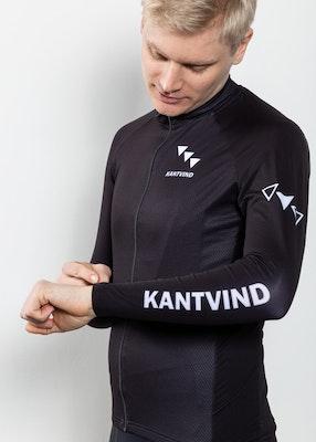 Långärmad cykeltröja Kuling | Svart | Herr