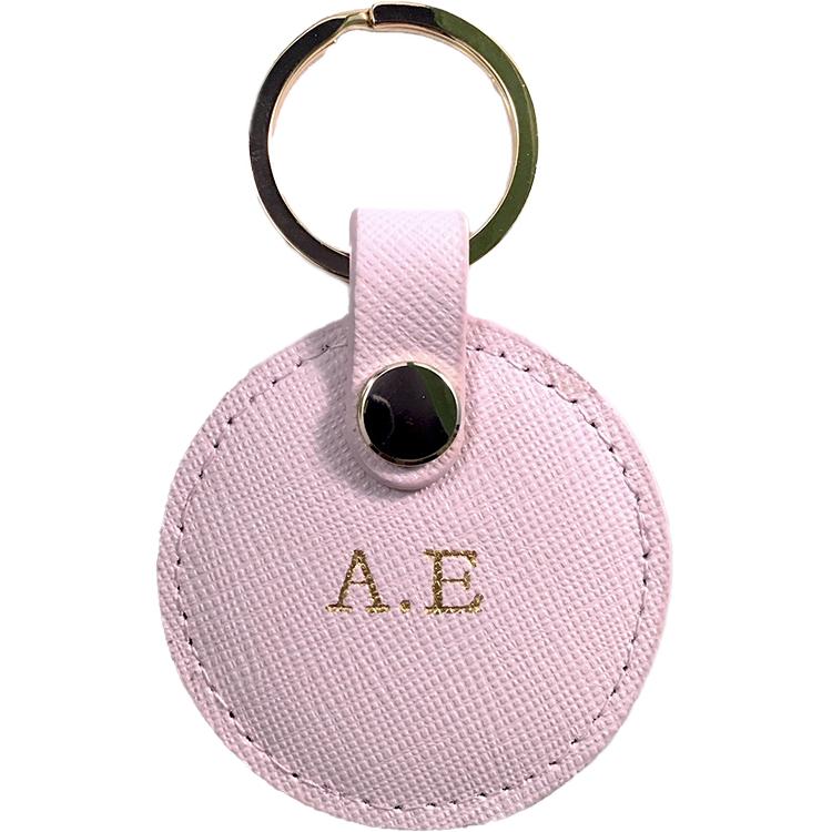 Leonore-nyckelring i läder med tryck- alla hjärtans dag gåva ... d3580d0299aa2