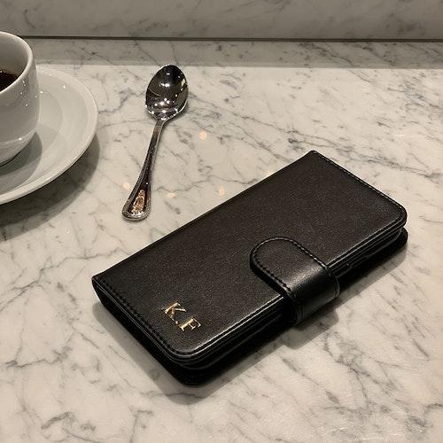 Plånboksfodral - Svart smooth