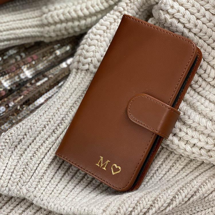 Plånboksfodral - Brown smooth