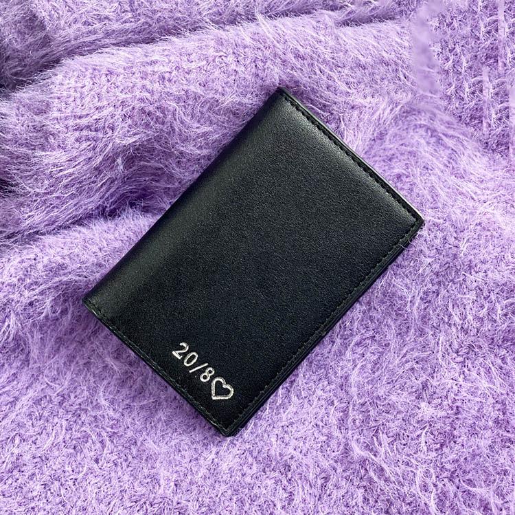 Black smooth (plånbok)