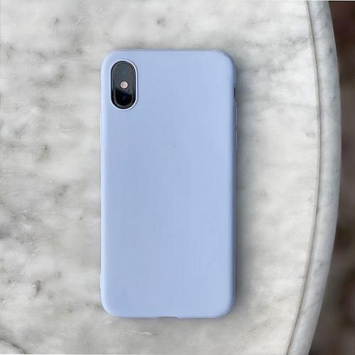 Light blue silikonskal
