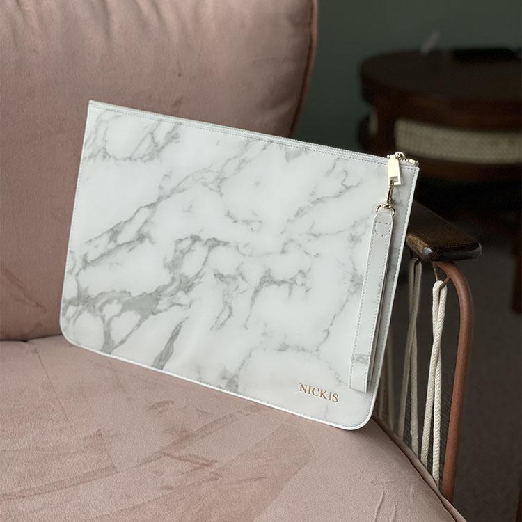 White Marble - Datorfodral