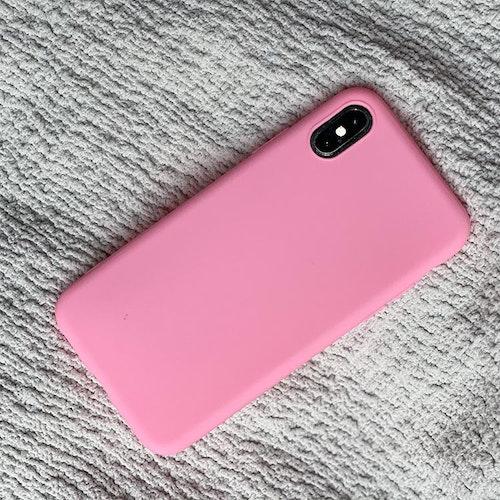 Rosa silikonskal