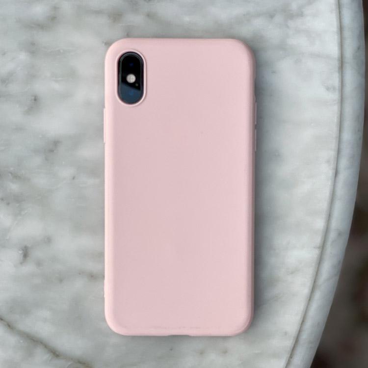 Light pink silikonskal