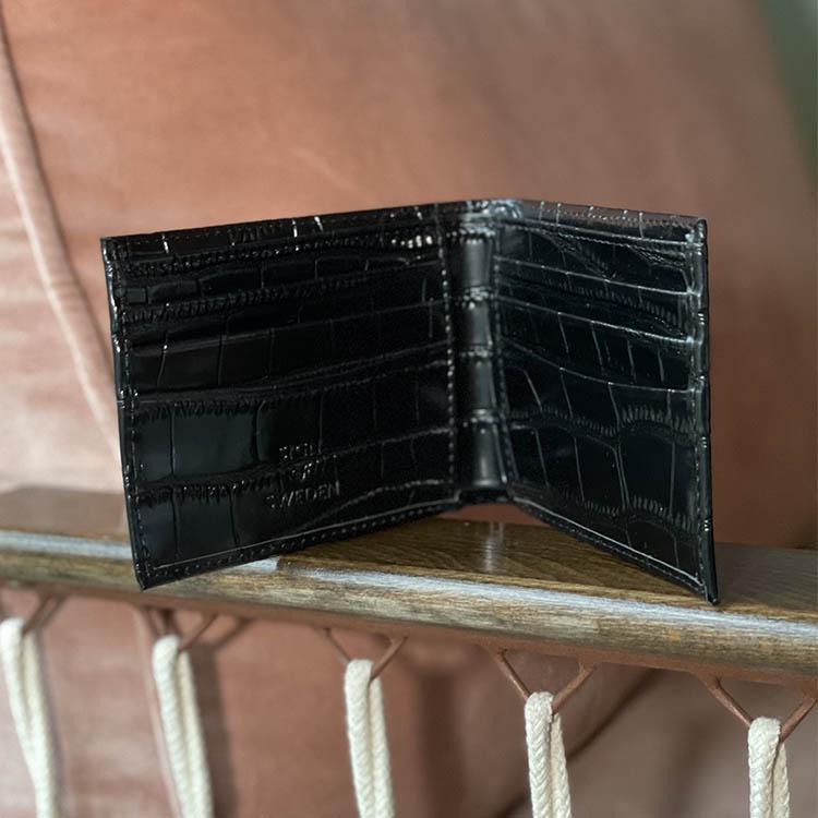 Croco - Plånbok med gravyr
