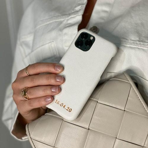 White mobilskal