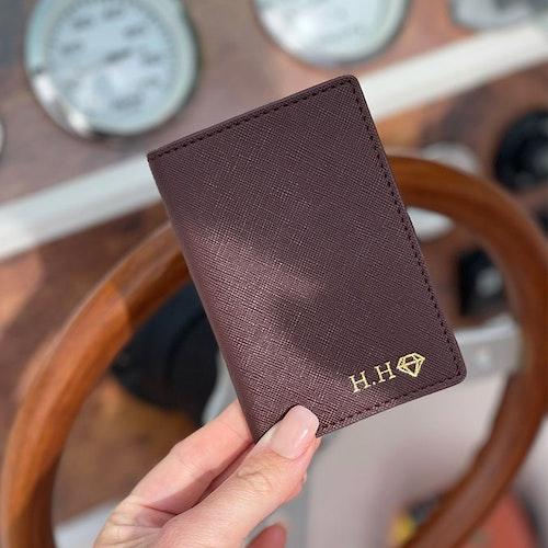 Dark brown (plånbok)