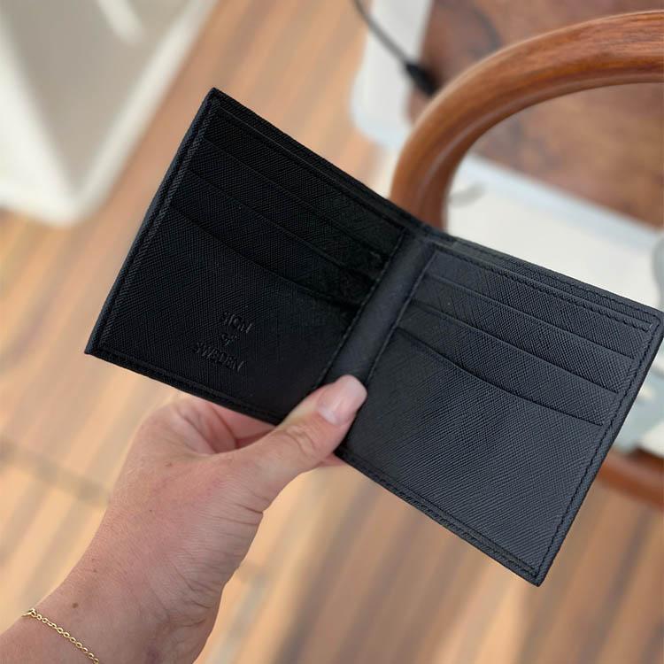 Oscar - Plånbok med gravyr