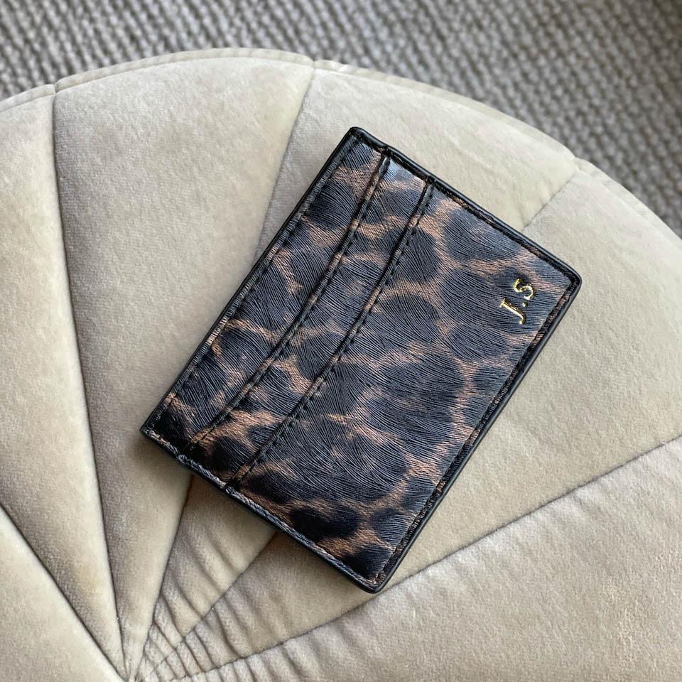 Leopard - Korthållare