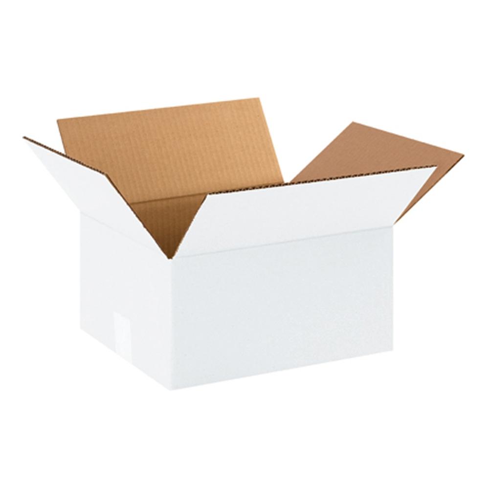 Vita kartonger 2 storlekar - Mailingbags.nu