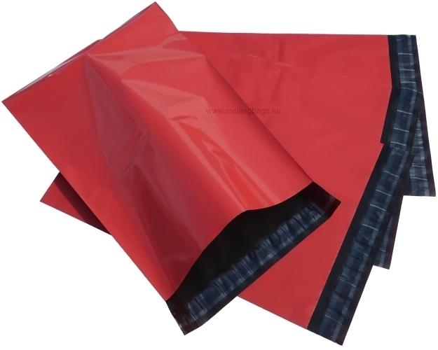 Postorderpåsar Röd 4 storlekar! - Mailingbags.nu