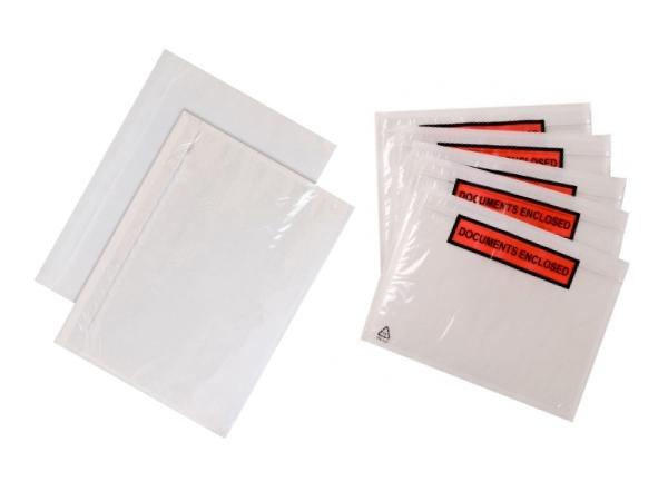Packsedelsfickor 5 storlekar - Mailingbags.nu