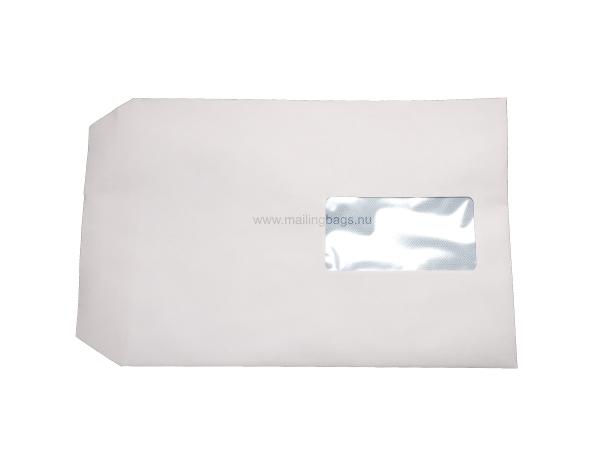 Vita kuvert med fönster C4, C5, DL. - Mailingbags.nu