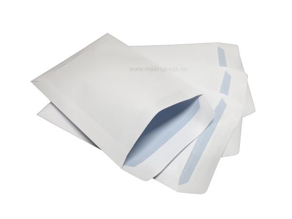 Brevpåsar C4, C5, DL. Vit & brun 70% ! - Mailingbags.nu