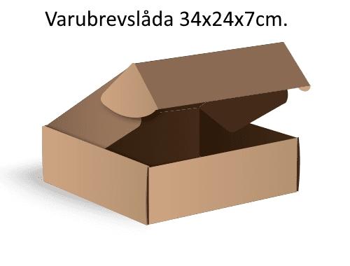 E-Handelslåda 34x24x7cm - Mailingbags.nu