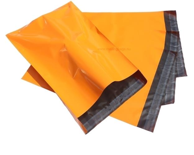 Postorderpåsar Orange 4 storlekar! - Mailingbags.nu