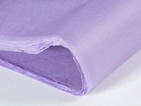Silkespapper Lavendel 50x75cm
