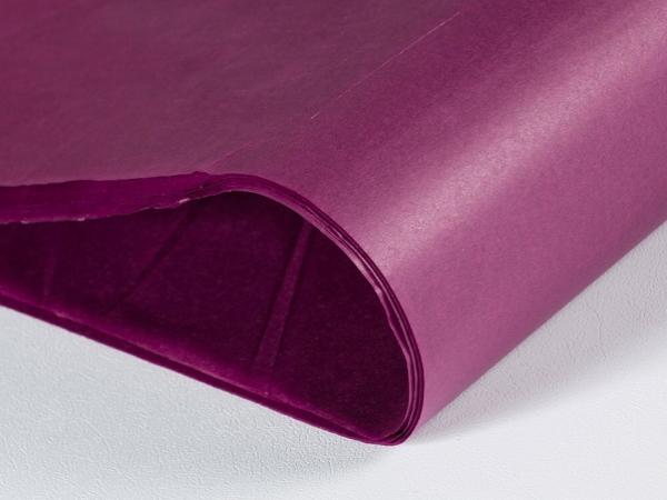 Silkespapper Vinröd 50x75cm
