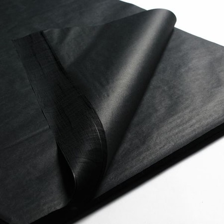 Silkespapper Svart 50x75cm