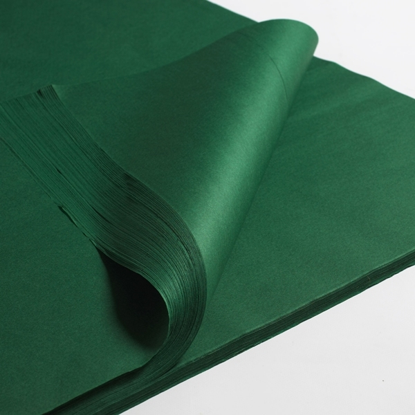 Silkespapper Grön 50x75cm