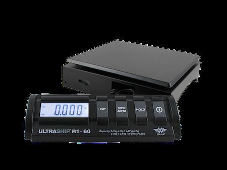 Paketvåg 27kg med löstagbar LCD front