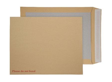 Pappryggkuvert med stel kartongrygg A3, A4, A5 och A6 storlek