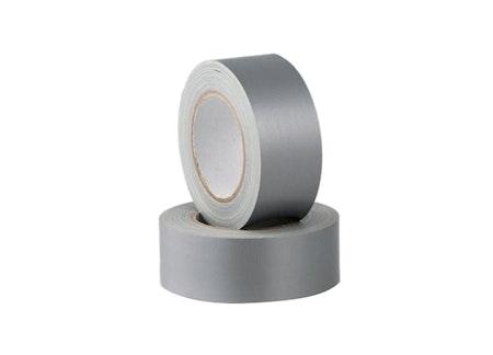 Silvertejp, gaffatejp, vävtejp 5cm 45 meter. 4 färger