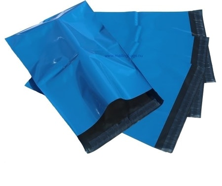 Postorderpåsar Blå 2XL 33x53cm