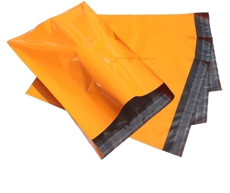 Postorderpåsar Orange X-Small 12x21cm